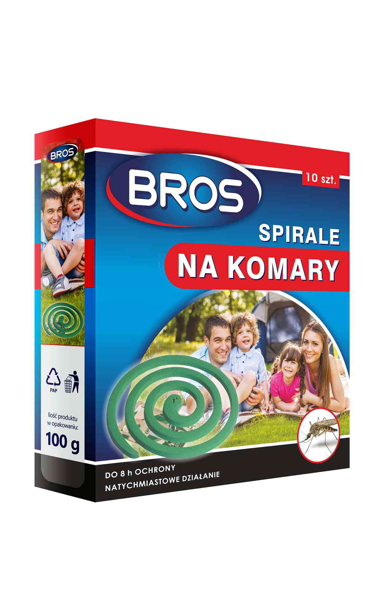 BROS spirala na komary
