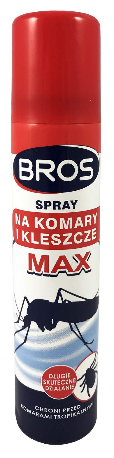 spray na komary, spraj na komary, bros spray, na komary z deet, spray na komary z deet